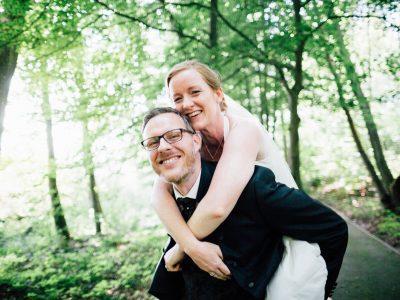 Trauung auf dem Steg –Hochzeitsreportage vom Jagdschloss Waldsee