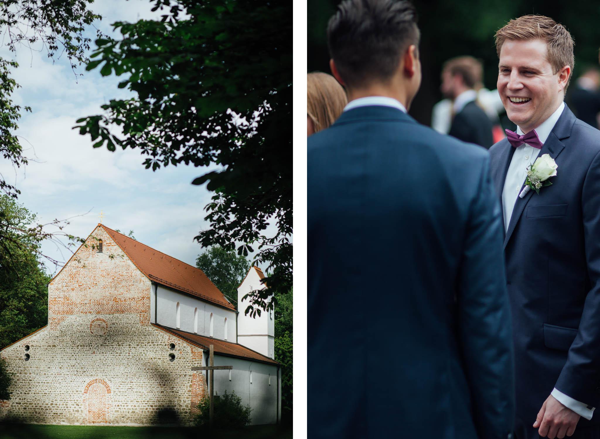 hochzeitsreportage-münchen-bräutigam-kirche