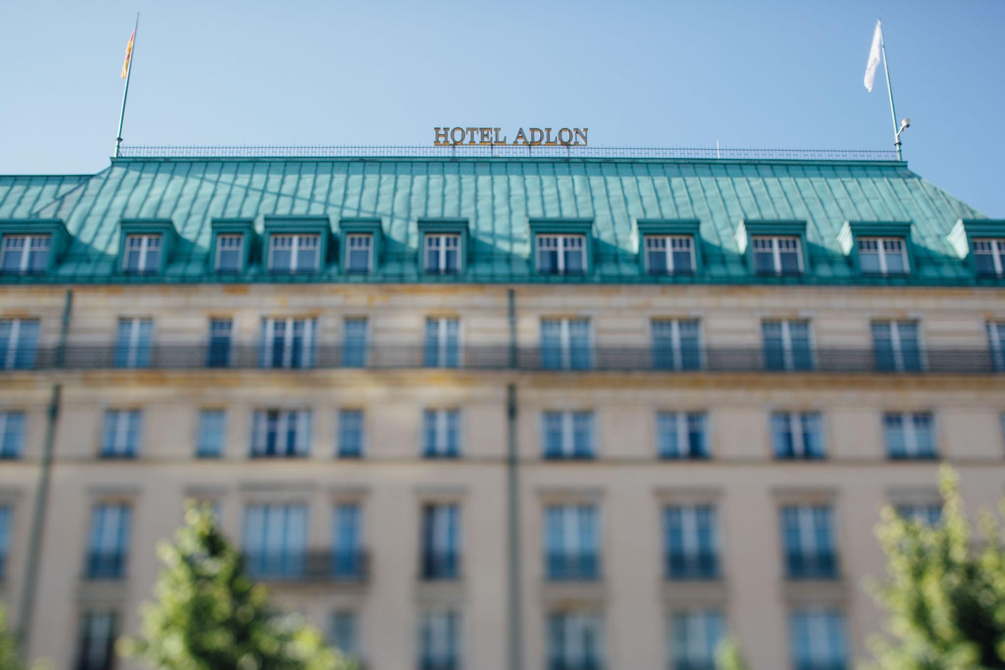 Hotel Adlon Berlin Geschichte