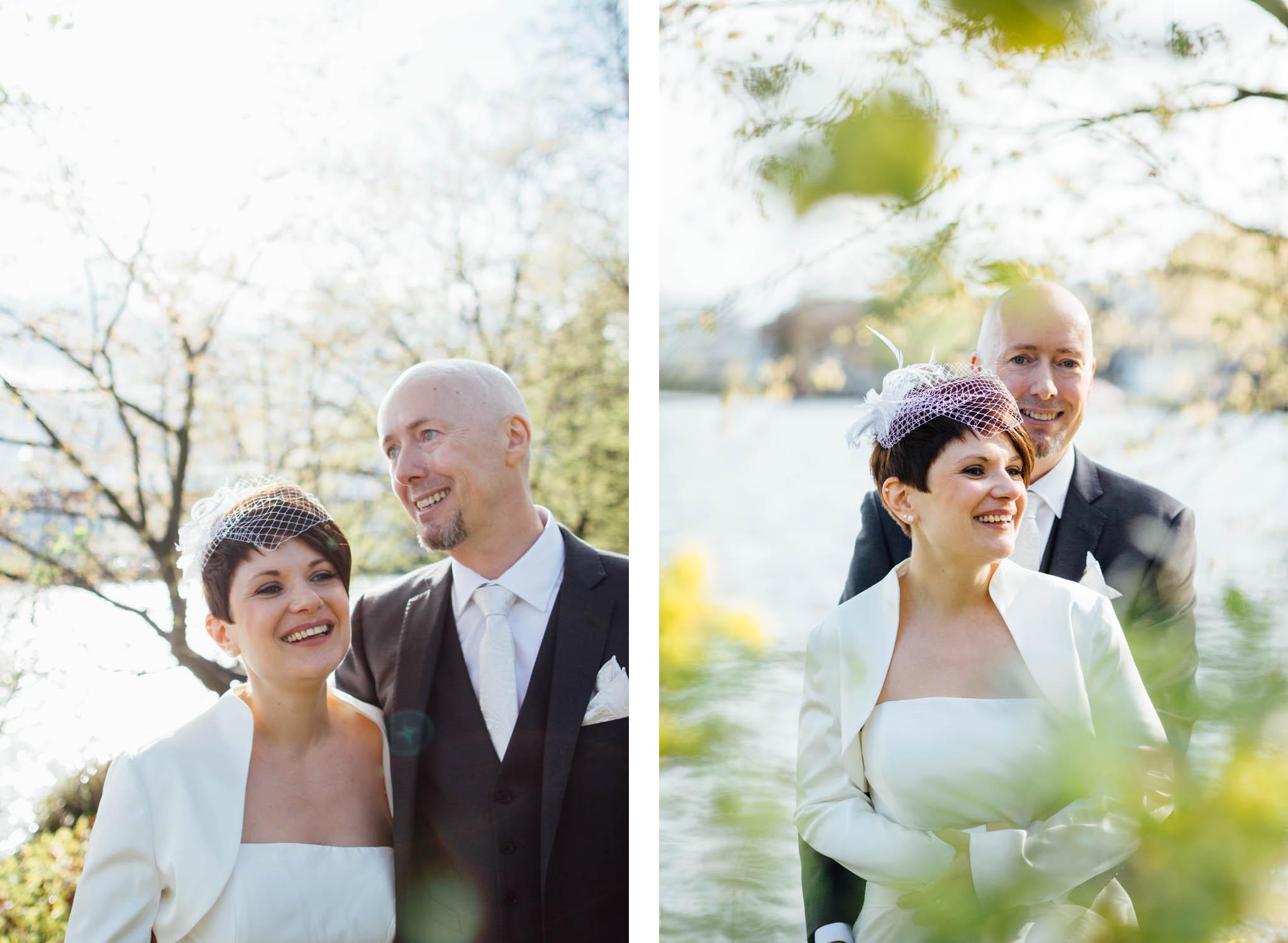 hochzeitsfotos-grün-wasser-blüten-gegenlicht