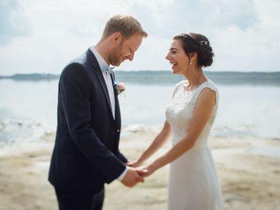 Heiraten am See – eine Sommerhochzeitsreportage aus Brandenburg